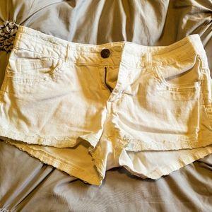 Rewind White Shorts